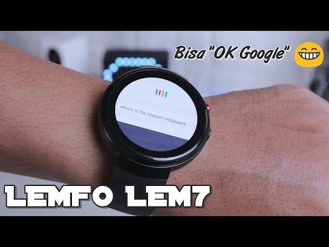 Smartwatch 4G yang FITURNYA BANYAK – LEMFO LEM7 Review Indonesia