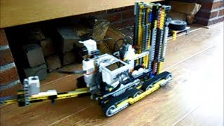 LEGO Mindstorms - Automatic tracked trailer