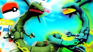 "Minecraft Pixelmon Lucky Block Island - ""RAYQUAZA'S WINDY WINDMILL!"" - (Minecraft Pokemon Mod)"