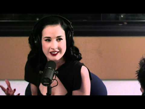 Dita Von Teese chats Love and Sex on Loveline