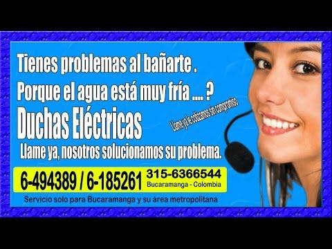 Duchas eléctricas Grival. Instalamos y Reparamos - Bucaramanga Santander / 300-