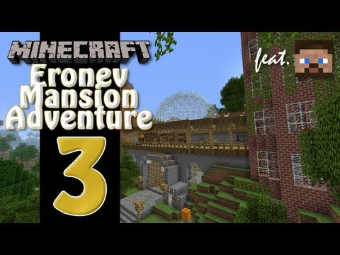 Minecraft Eronev Mansion Adventure feat. Anders - EP03 - Tools!
