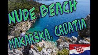 The Best Hidden Nude Beach Near Makarska, Croatia ~ Through Canadian Eyes