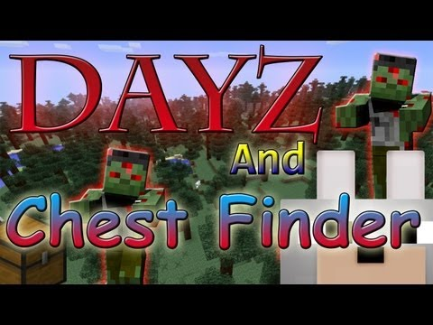 Minecraft Mods - MC Dayz and Better Chest Finder 1.3.2 Review and Tutorial