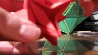 Origami Christmas Decoration - Final Part