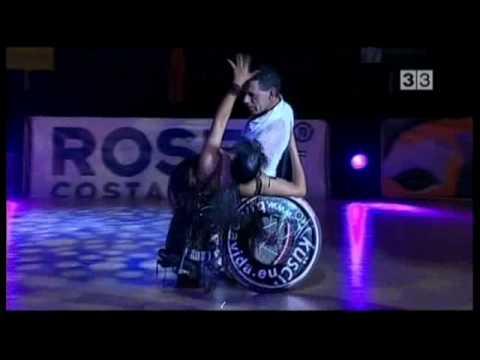 baile en silla de ruedas wheelchair dancing Rosas
