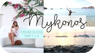 A Moment in Mykonos / Celestyal Cruise Day 1 + 2