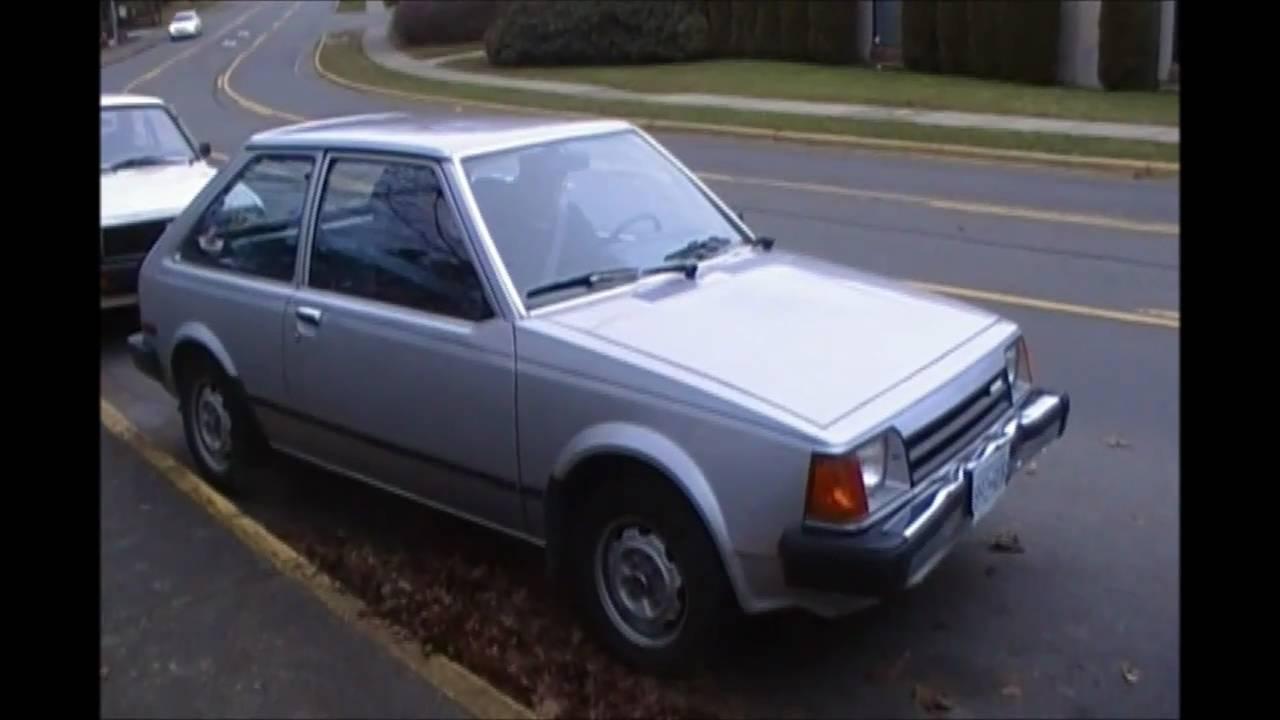 1985 Mazda Glc 3-door Hatchback