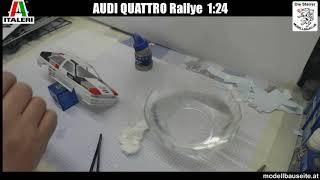 Italeri Audi Quattro Rallye 1:24 Baubericht - Part 3