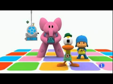 Pocoyo 3X05.- Let's go Pocoyo ( The Postman )