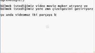 movie maker video kesme (kicikirik.com)