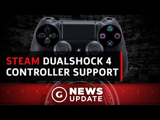 Steam PS4 Controller Support Expanding - GS News Update