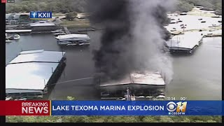Lake Texoma Marina Explosion