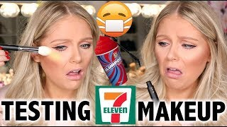 FULL FACE OF 7-ELEVEN MAKEUP TESTED | MAJOR FAIL
