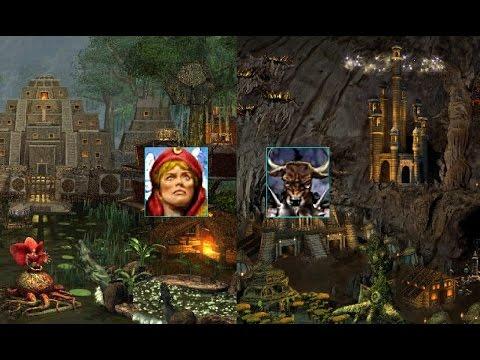#250. HoMM 3. Armag [Крепость, Кайра (Кира)] vs  Zet [Темница, Дас]. Anarhia. часть 2