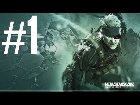 Metal Gear Solid 4 : Guns Of The Patriots - Greatplay #1 Fr - Old Snake video
