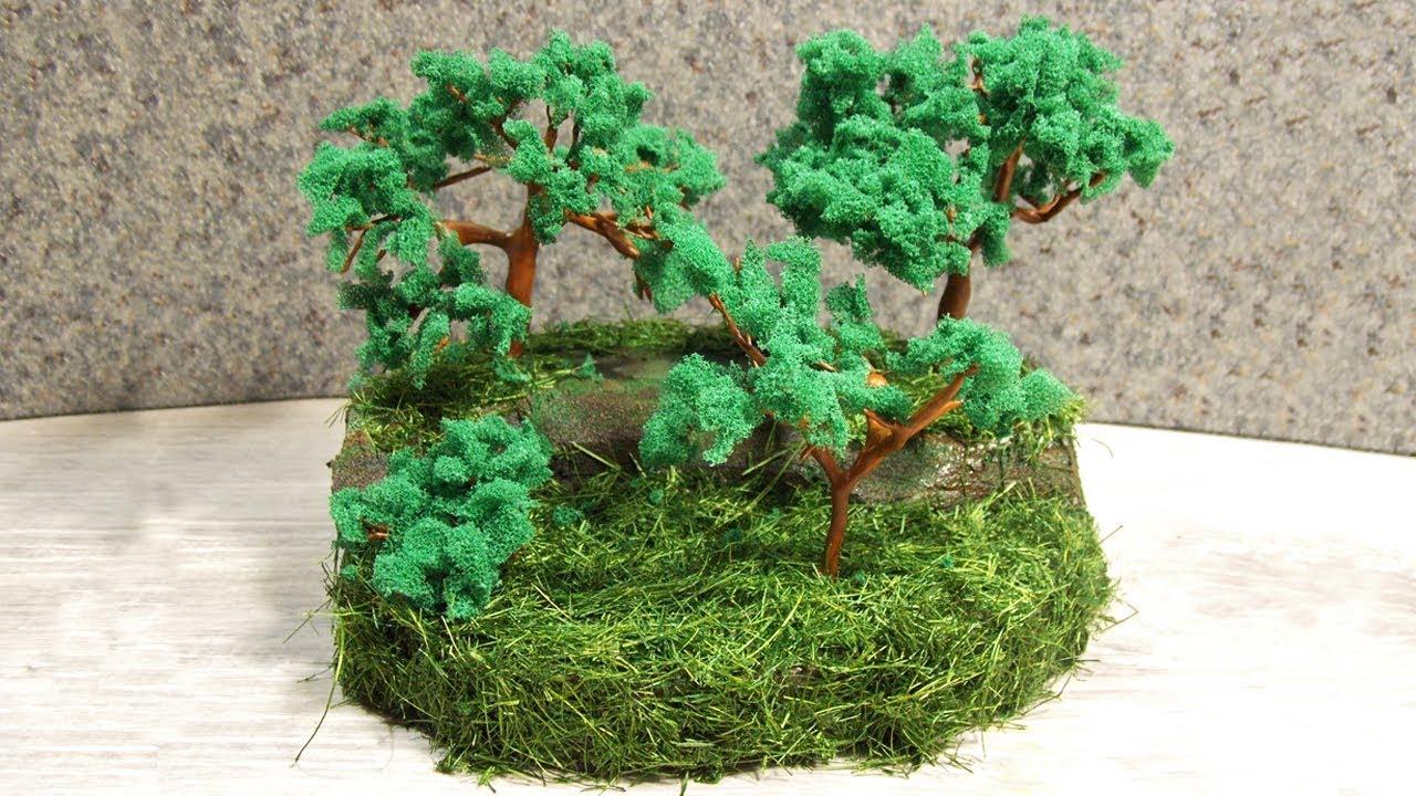Мини-деревья своими руками 92