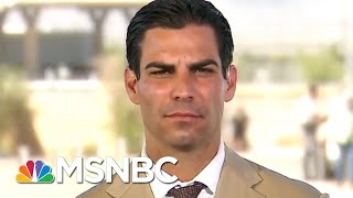 Miami Mayor: This Is Like Being Denied Entry To My Police Station | Velshi & Ruhle | MSNBC