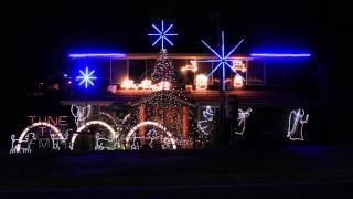 Battlefield 4 Theme Synced to Christmas Lights 2014 (Obliteration Mode)