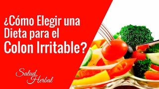 Alimentos Para Curar El Colon Irritable | Dieta Para El Colon Irritable Con Diarrea Y Gases