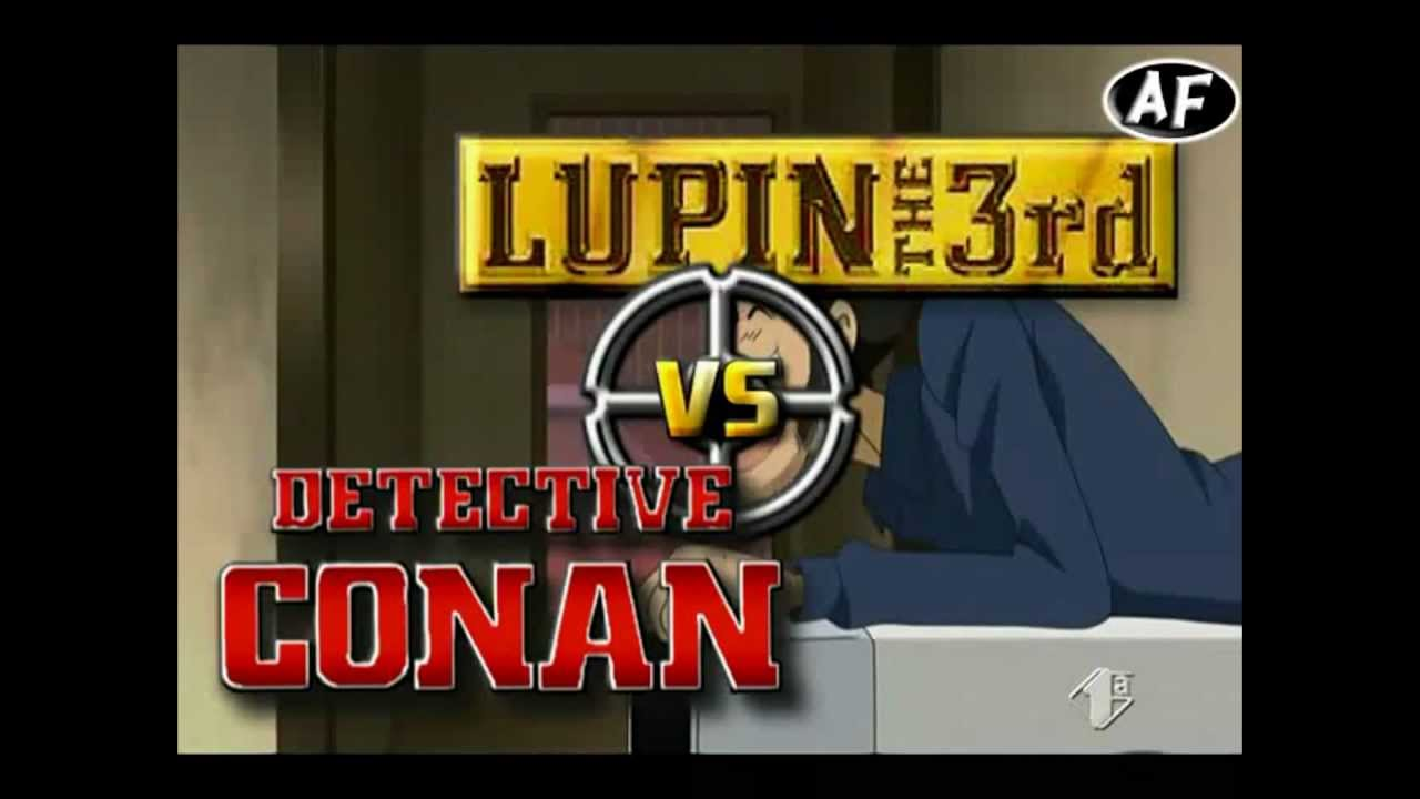 Lupin the third vs detective conan