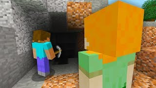 Download Lagu STEVE AND ALEX MINECRAFT - HOW ALEX MET STEVE... Gratis STAFABAND
