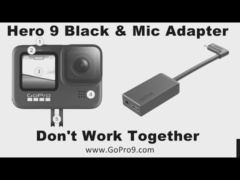 Big Problem With GoPro Hero9 Black For Vlogging - It Doesn't Work With GoPro Pro 3.5mm Mic Adapter
