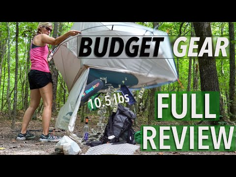 Budget Backpacking Gear Review