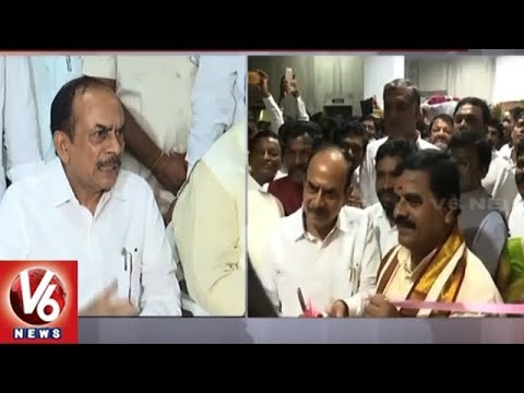 Mandali Chairman Swamy Goud Inaugurates SC/ST Commission Office | Hyderabad | V6 News