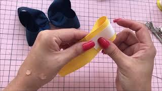 Como Fazer Laço Boutique - Laço Escolar