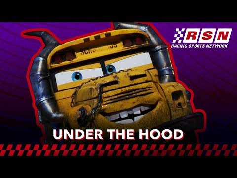 Under the Hood: Miss Fritter | Racing Sports Network by Disney•Pixar Cars