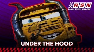 Under the Hood: Miss Fritter | Racing Sports Network by Disney?Pixar Cars