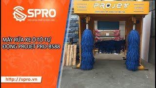 Hệ thống máy rửa xe ô tô tự động PROJET PRO-B588
