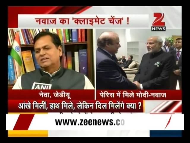 Questions being raised as PM Modi and Nawaz Sharif meet in Paris