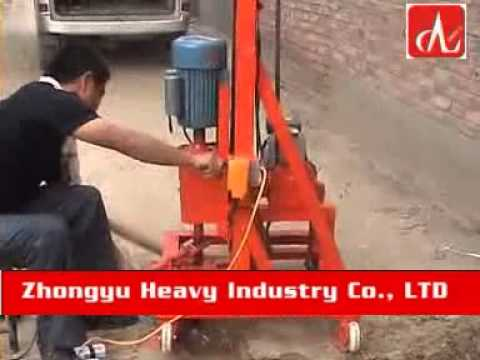 small borehole drilling machine by zhongyu heavy industry