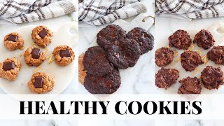 HEALTHY COOKIES: easy healthy dessert recipes, paleo