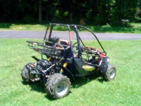 Carbide / Quantum 7150 Go Kart Mini Buggy walkaround and Virtual Ride