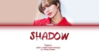 Taemin 39 Shadow 39 Color Coded Han Rom SubespaÑol