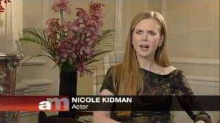 Nicole Kidman interviwed by Andrew at Marr Show