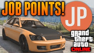GTA 5 Online - THE MOST ASKED QUESTION ON GTA 5 - WHAT IS A JP? (GTA 5 Job Points Explained)