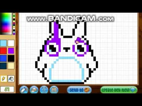 Image of: Arctic Wolf Pixel Art Animal Jam Video Pixelart Animal Jamu003cbru003eu003ciframe Titleu003d