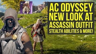 Assassin's Creed Odyssey NEW LOOK AT Pilgrim Outfit, Stealth Abilities & More (AC Odyssey Gameplay)