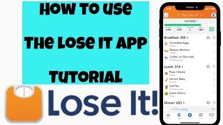 Best weight loss app ever lose it app Tutorial (free giveaway AirPods)