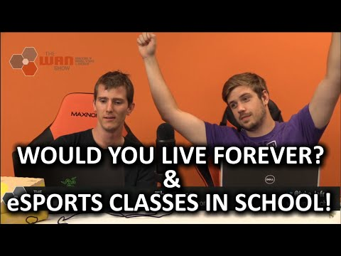 The WAN Show - $385,000 Internet Connection & eSports Doping Policies - August 14, 2015