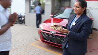 Taking Delivery of Hyundai Elite i20 Asta Automatic