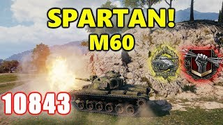 World of Tanks - M60 - 11K Damage 9 Kills - Spartan!