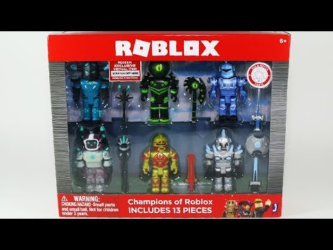 Champions of Roblox Toys Korblox Mage Redcliff Elite Commander The Overseer