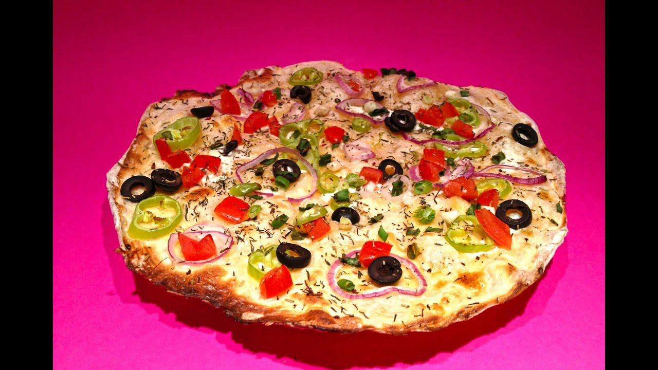 flammkuchen rezept mediterran flammkuchen backen mit einfachkochen statt pizza youtube. Black Bedroom Furniture Sets. Home Design Ideas