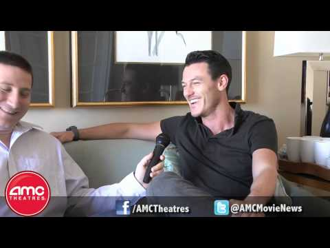 Luke Evans Talks IMMORTALS With AMC