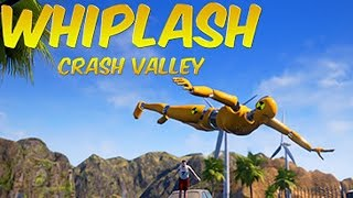 NICHT NACHDENKEN! - Let's Play Whiplash Crash Valley
